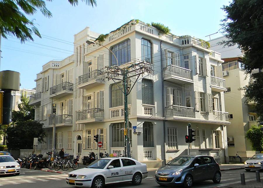 Эклектика и баухаус на бульваре Ротшильда Тель-Авив, Израиль