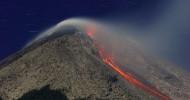 Вулкан Мерапи в Индонезии, фото вулкана