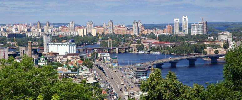 Киев с Владимирской горки