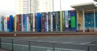 Канзас – библиотека с книгами на улицу
