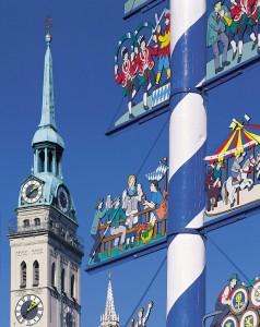 церковь Святого Петра – самый старый храм города Мюнхен