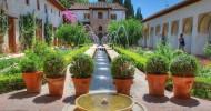 Сады Хенералифе в Гранаде, Испания (30 фото)