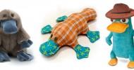 Утконосы-игрушки