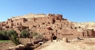 Укрепленный город Айт-Бен-Хадду в Марокко.