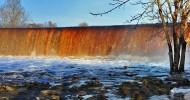 Водопад Ягала, фото водопада в Эстонии