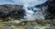 Вулкан Уайт-Айленд в Новой Зеландии — ФОТО