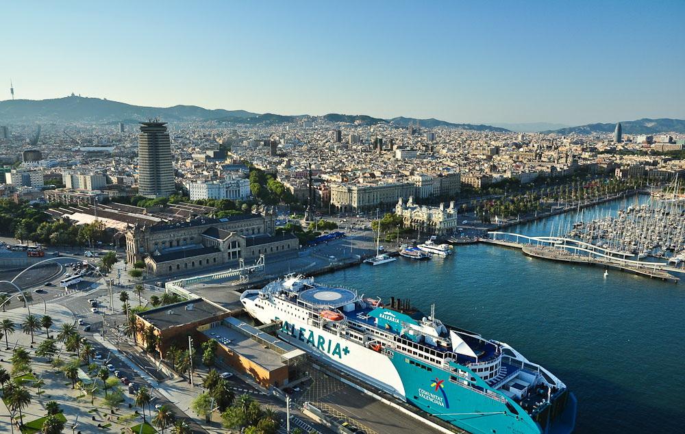 """Эшампле или """"Новый Город"""" — наиболее населённый район Барселоны."""
