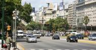 Проспект Авенида Нуэве-де-Хулио, Аргентина