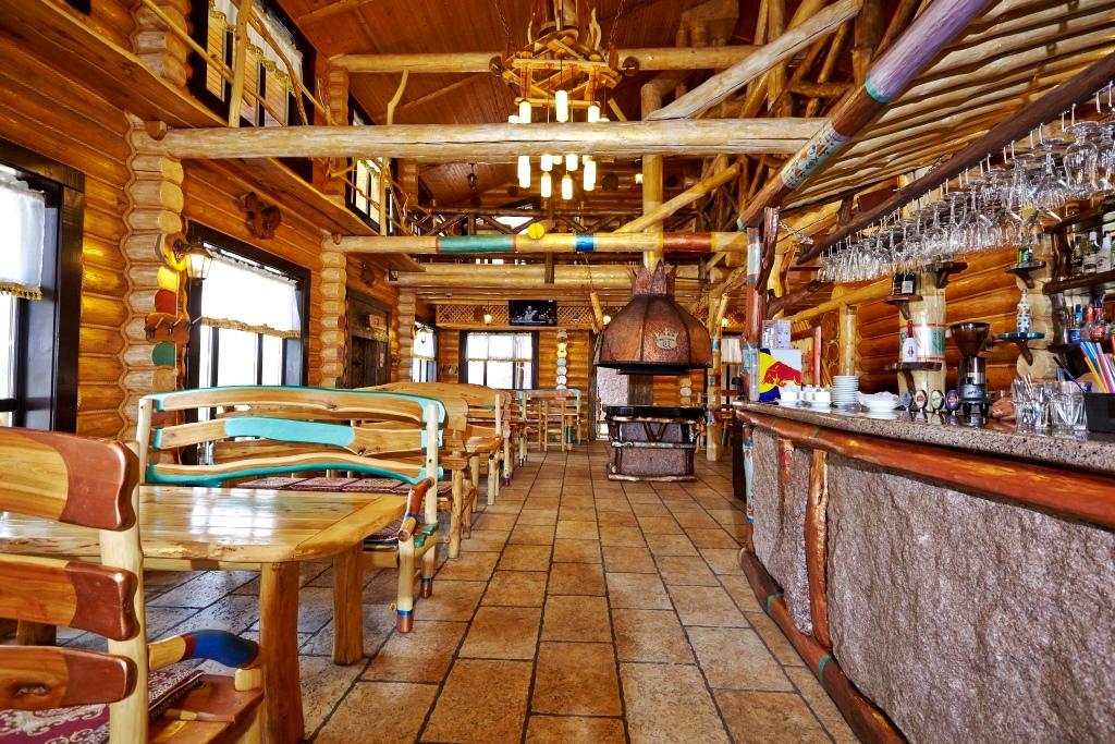 Зал ресторана «Царевка»