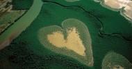 9 природных объектов в форме сердца