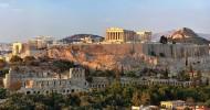 Ансамбль Афинского Акрополя в Греции
