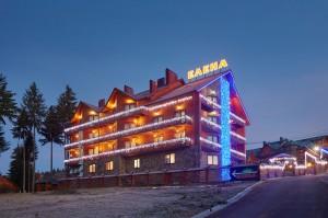 Отель «Вилла Елена» вблизи туристического комплекса Буковель.