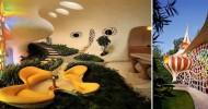 Биодизайн: дом в виде раковины моллюска (18 фото)
