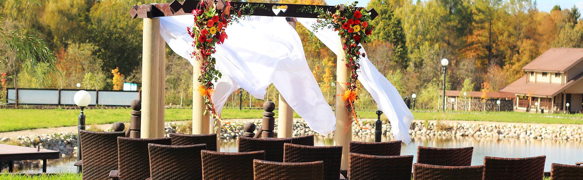 В эко-отеле «Лепота» вы сможете арендовать уютные рестораны Подмосковья для свадьбы