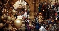 Рынок Хан эль-Халили в Каире, Египет