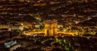 Триумфальная Арка в Париже, Франция — ФОТО.