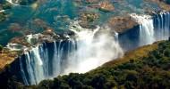 Водопад Виктория в Африке, фото водопада