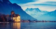 Женевское озеро (Леман) фото озера