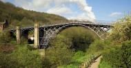 Чугунный мост в Англии