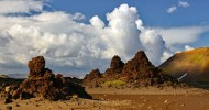 Пещеры вулкана Горелого
