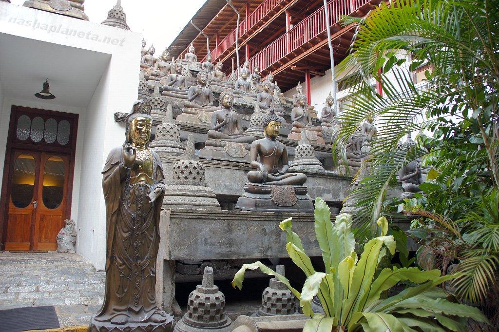 Достопримечательности Коломбо: Храм Гангарамая