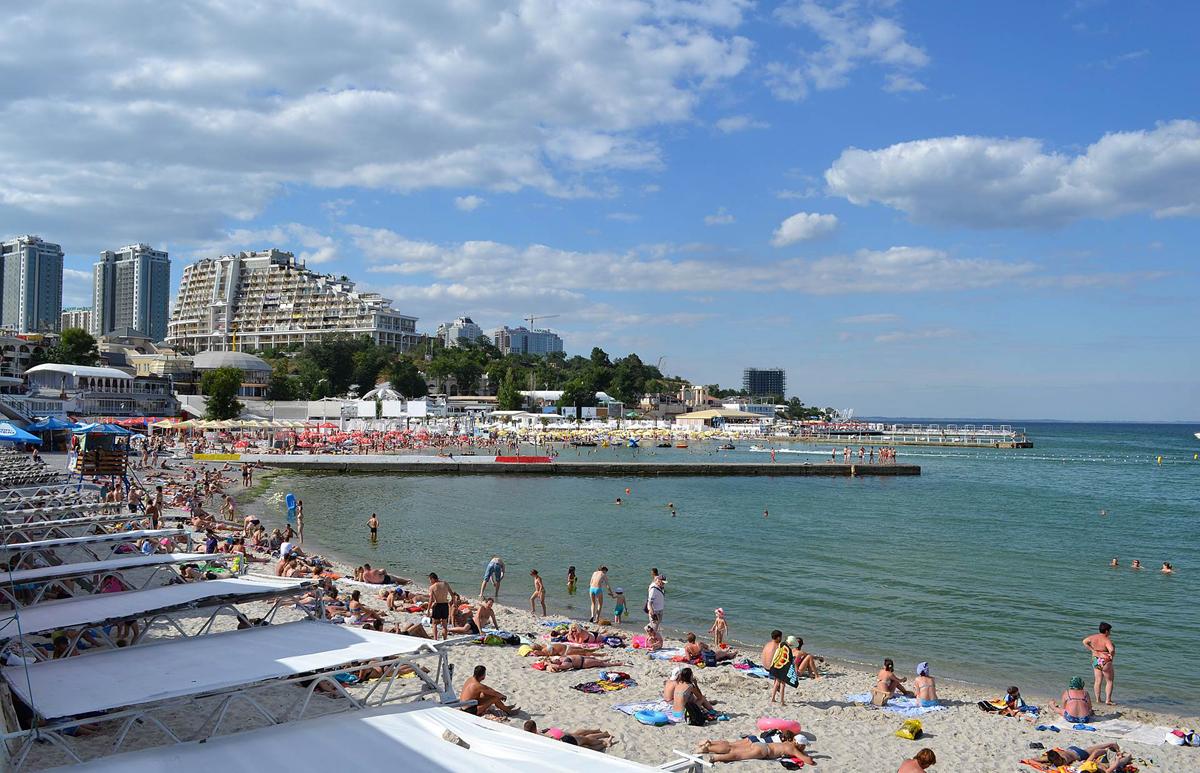 Одесса, Аркадия, море, пляж