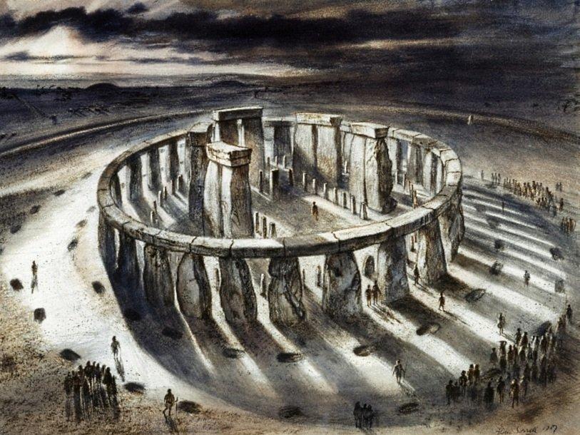 Так Стоунхендж мог выглядеть в 1000 году до нашей эры