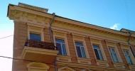 Одесские достопримечательности: Дом с одной стеной (плоский дом)