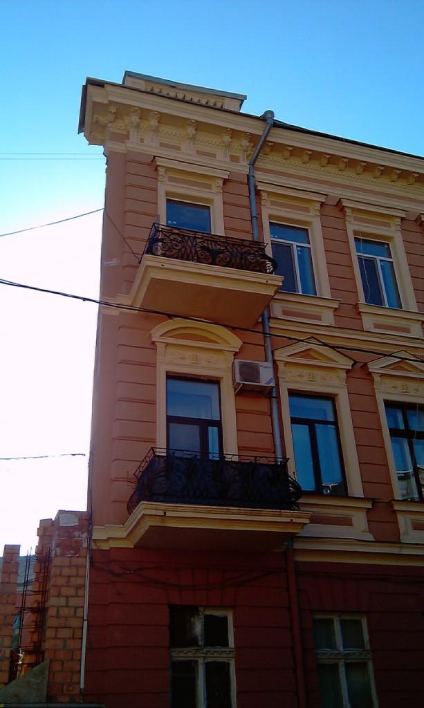 Плоский дом, переулок Воронцовский (Краснофлотский), дом №4.