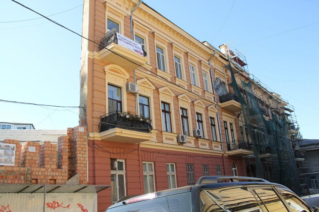 Плоский дом в Одессе