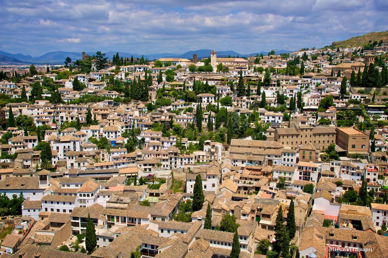 Арабский квартал Альбайсин (Albaicín), Гранада