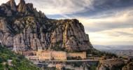 Монтсеррат − монастырь в горах