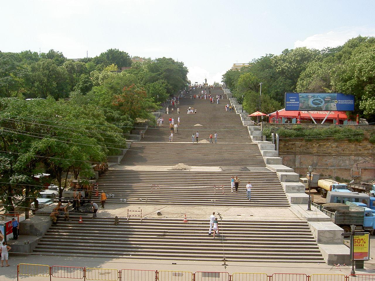 Потемкинская лестница, Одесса