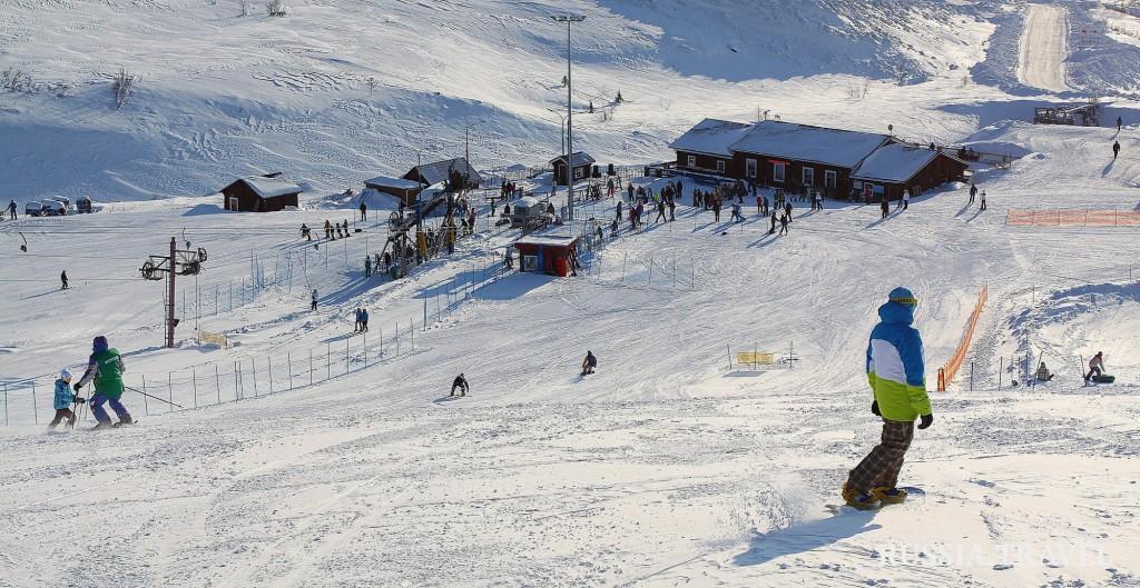 Большой Вудъявр входит в топ-10 популярных горнолыжных курортов России.