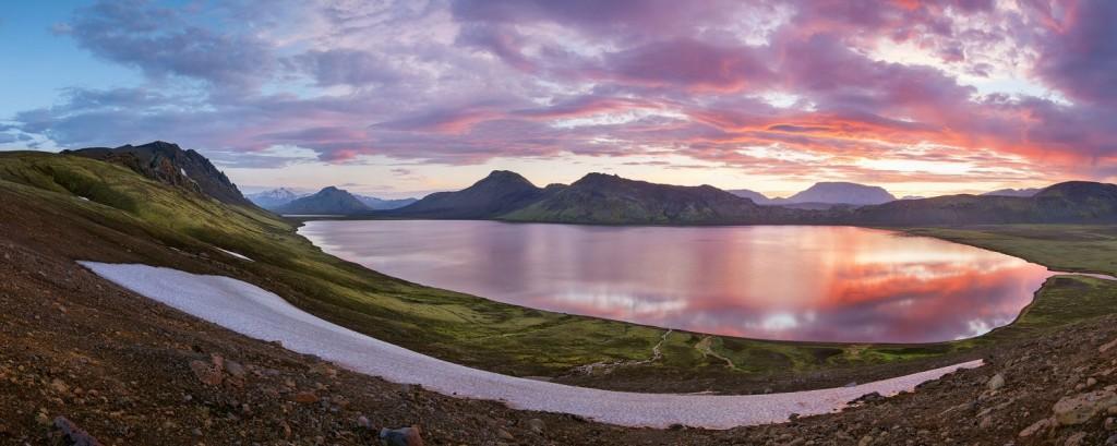 Озеро Альфтаватн, Исландия