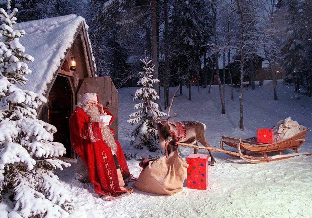 Йоулупукки - Санта Клаус