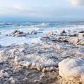 Соляные берега Мертвого моря Иордания