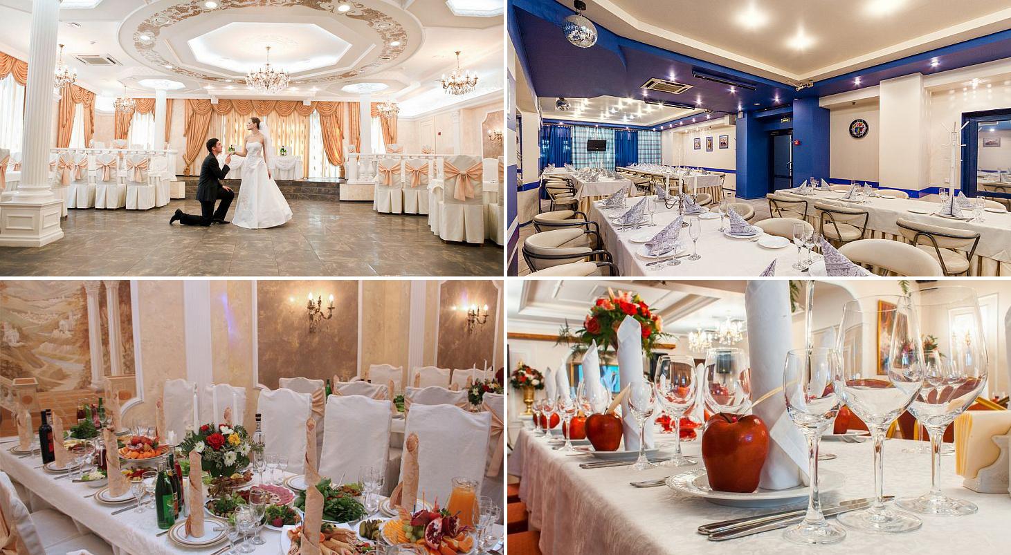 Рестораны для свадьбы в Санкт-Петербурге