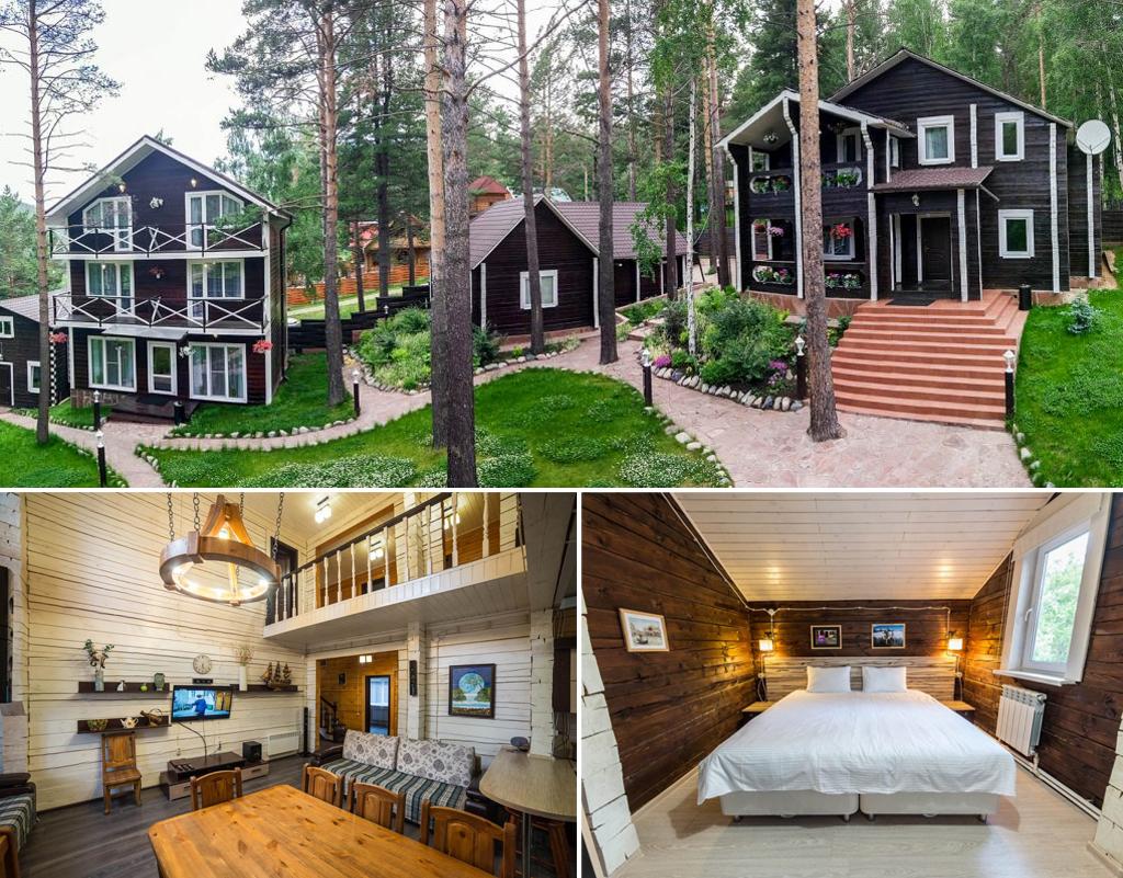 «Эдем» — гостиница в Листвянке на берегу Байкала