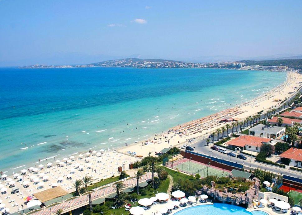 Курорт Чешме - Пляж Ылыджа