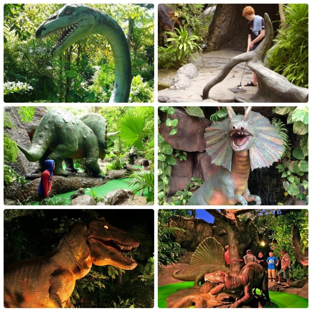Парк Динозавров и гольф на Пхукете