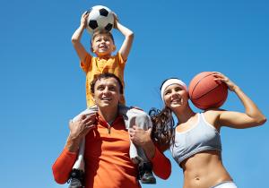 Спортивные развлечения для всей семьи