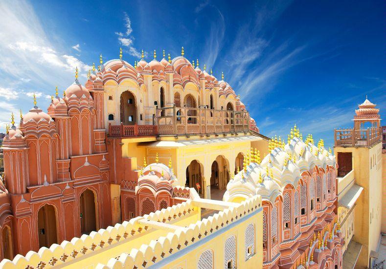 Хава-Махал, Дворец Ветров. Джайпур