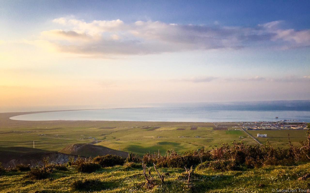 Вид на озеро Кукунор