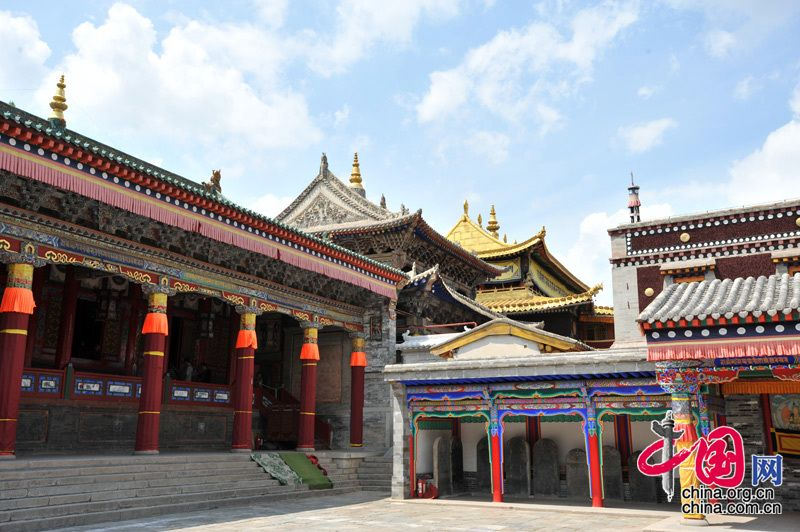 Буддийская святыня - храм Таэр