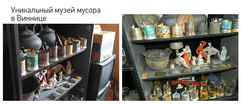 Музей мусора в Виннице