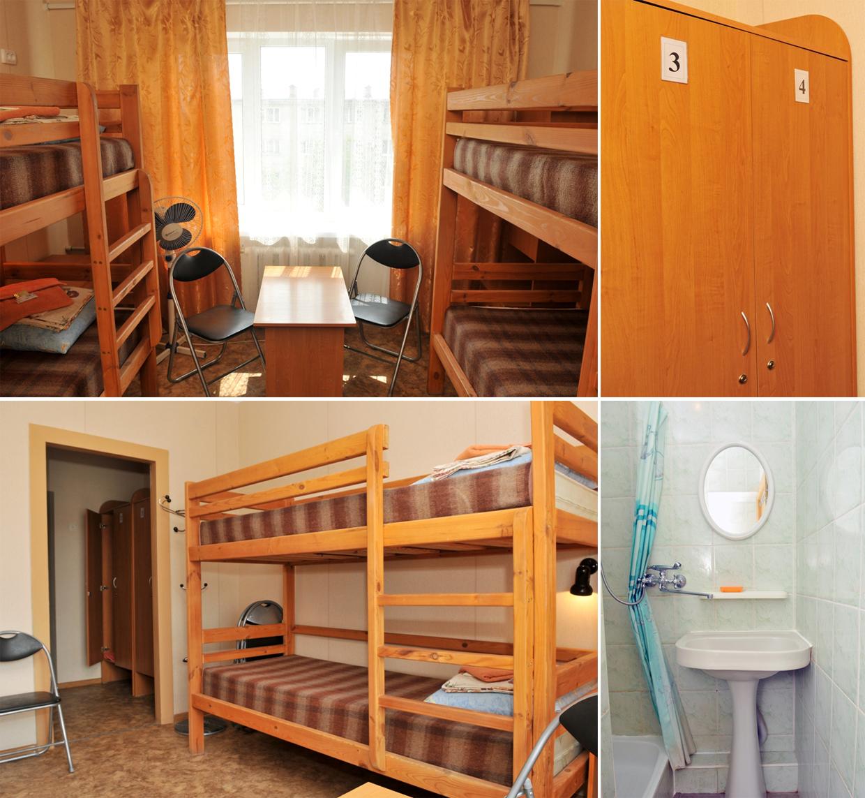 Четырехместный хостел в Евпатории