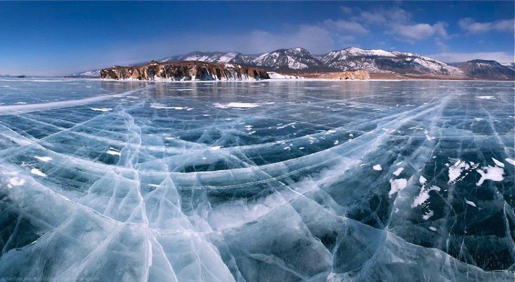 Остров Ольхон зимой