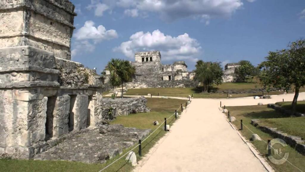 Индейский город Тулум. Мексика