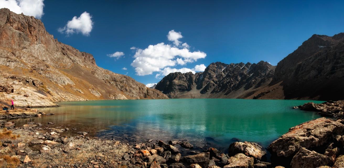 Озеро «Алаколь» — Пестрое озеро